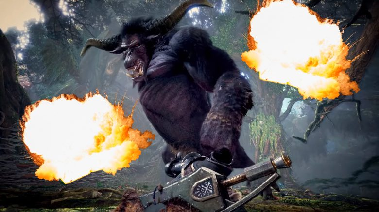 Monster Hunter World Titel Rajang Build Deto