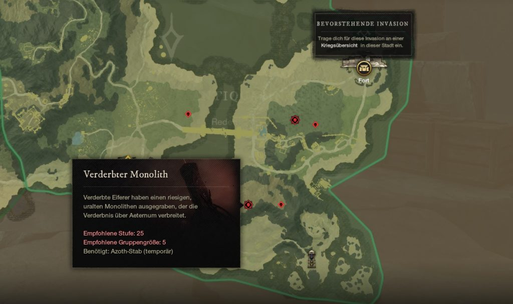 New World Event Verderbter Monolith