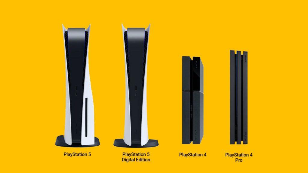 PS5 PS4 Größe
