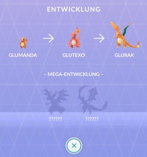 Pokemon GO Mega Dex