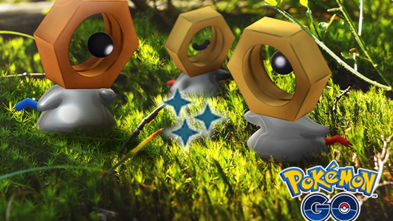 Pokémon GO Shiny Meltan Titel