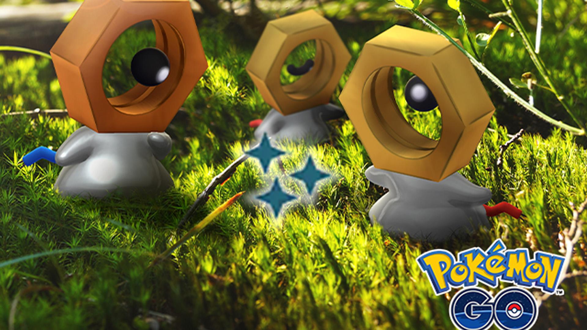 Pokémon GO Shiny Meltan Titel