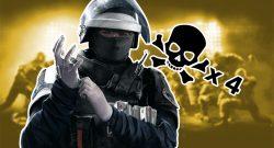 Rainbow Six Siege fieser trick Doc 4 kills titel