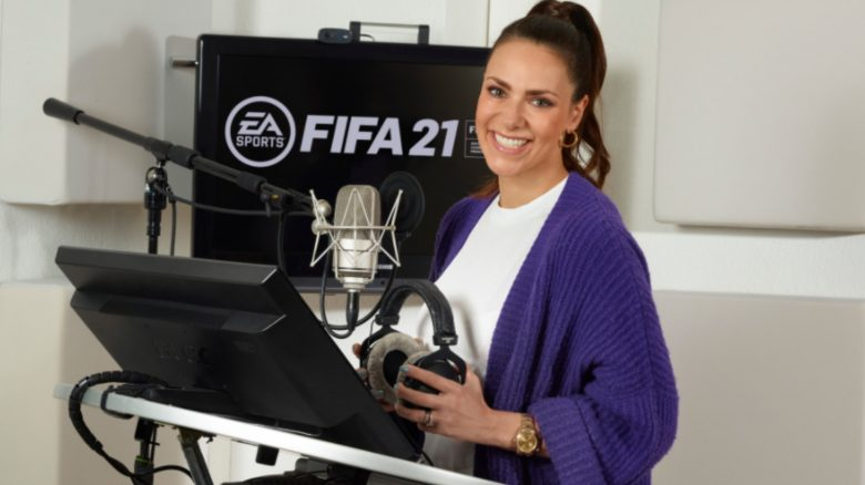 FIFA 21 bekommt erste weibliche Moderatorin – Die Fans lieben es
