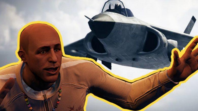 GTA Online Kampfjet