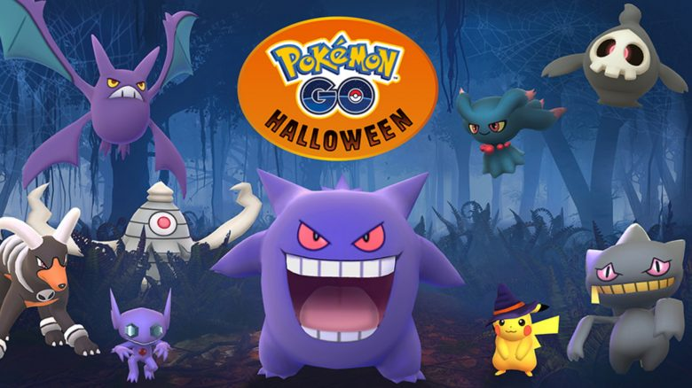 Halloween Pokemon GO
