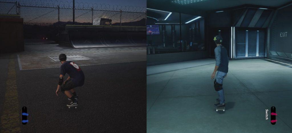Tony Hawk Multiplayer Test Splitscreen