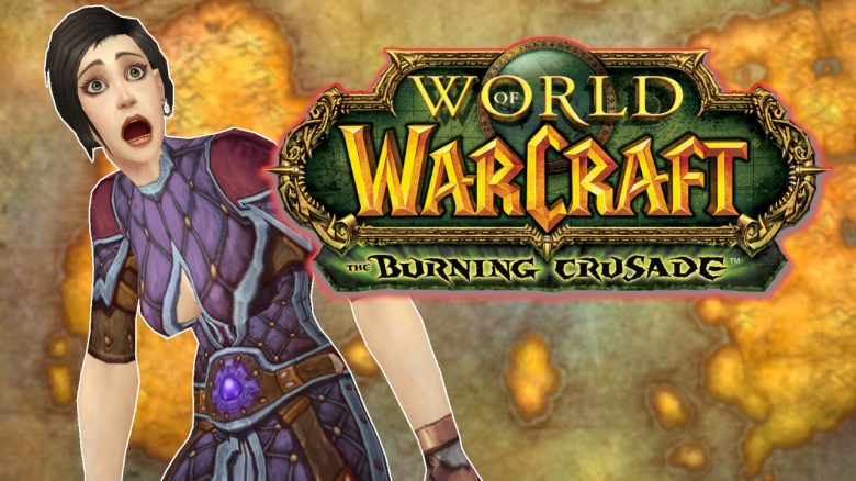 WoW Classic Burning Crusade Human Mage shocked title titel 1280x720