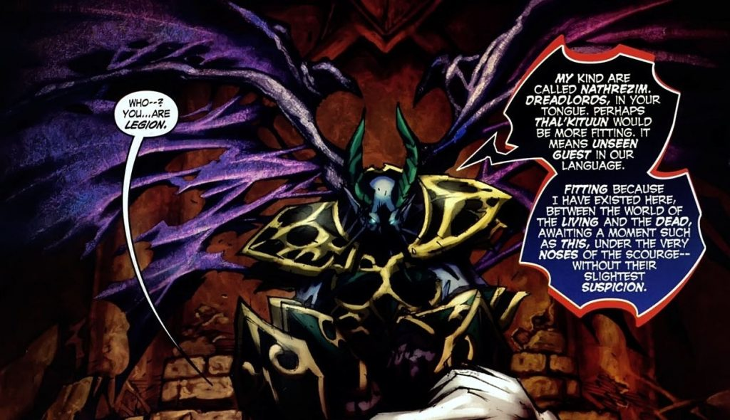 WoW Dreadlord Comic Thal'kituun