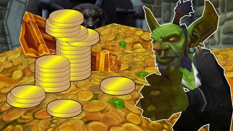 WoW Gold Goblin in Bank titel title 1280x720