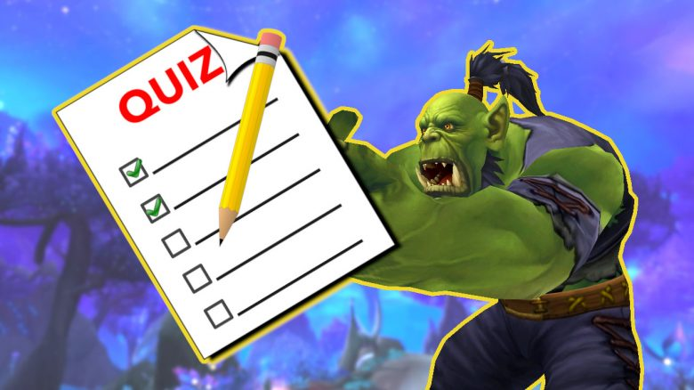 WoW Orc MMO Typen Quiz Titel