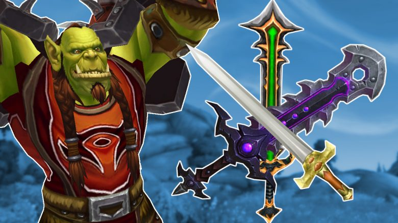 WoW Orc with swords titel title 1280x720