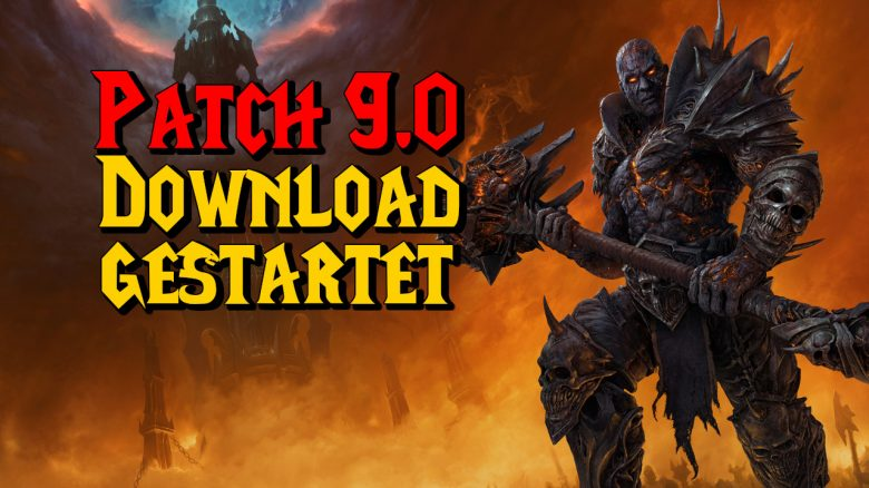 WoW Patch 90 Download gestartet titel title 1280x720