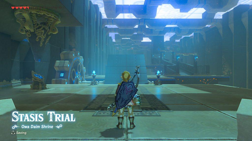 Zelda BOTW Tempel Jump