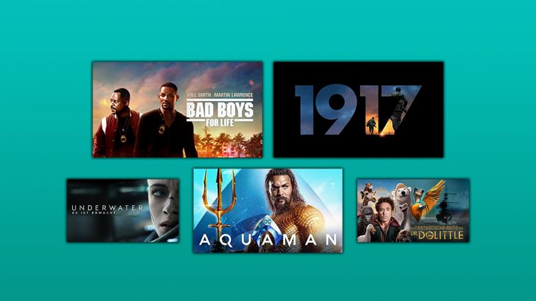Prime Video Filme: Bad Boys 3, 1917 & Aquaman für 97 Cent leihen