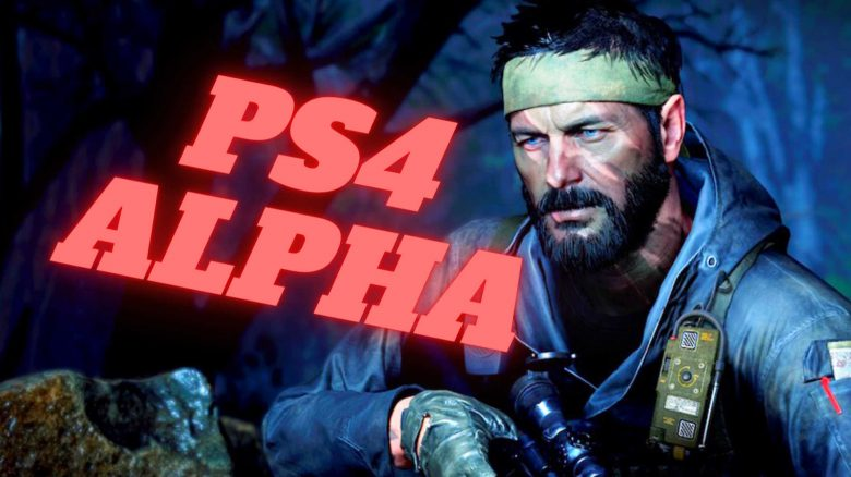 cod cold war ps4 alpha phase titel
