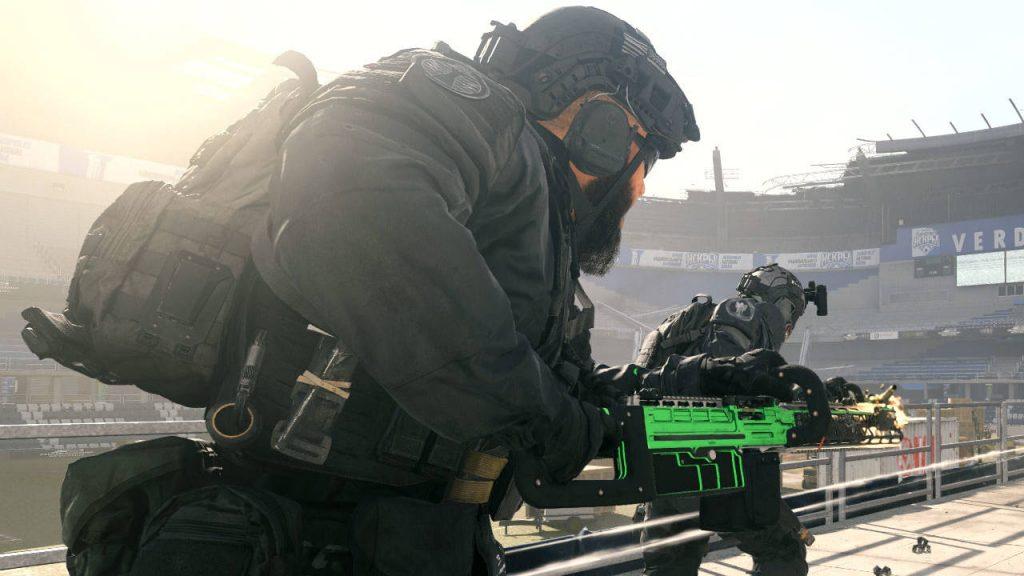 cod modern warfare warzone waffen finn lmg chainsaw bild