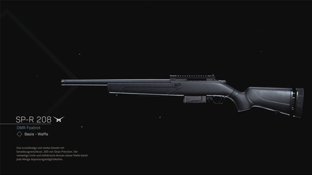 cod modern warfare warzone waffen season 6 SP-R 208