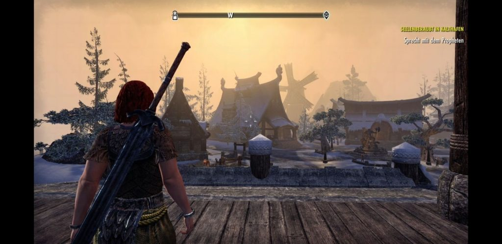 eso tablet cloud gaming - aussicht
