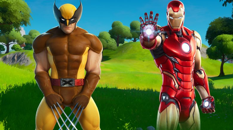 fortnite kampf iron man wolverine titel