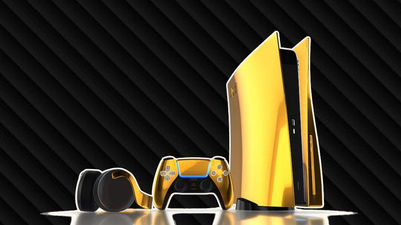 Wenn du zeigen willst, dass du was Besseres bist: Kauf dir doch eine Gold-PS5 für 9.000 €
