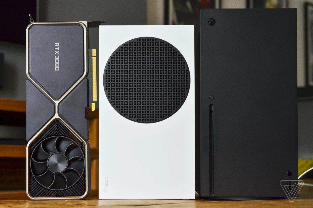 RTX 3080 im Vergleich mit Xbox Series X und S