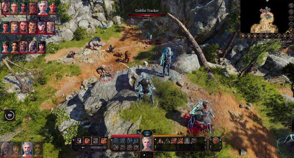Baldurs Gate 3 Kampf