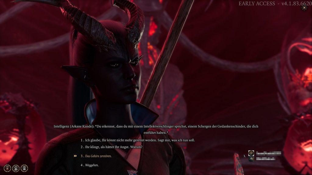 Baldurs Gate 3 Multiplayer Gespräch