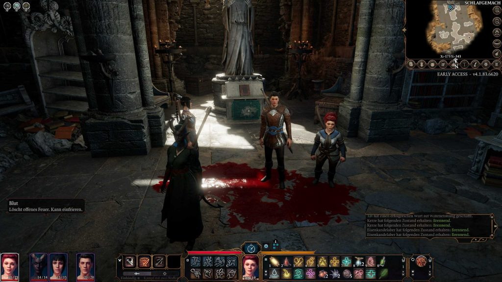 Baldurs Gate 3 Multiplayer Gruppenfoto