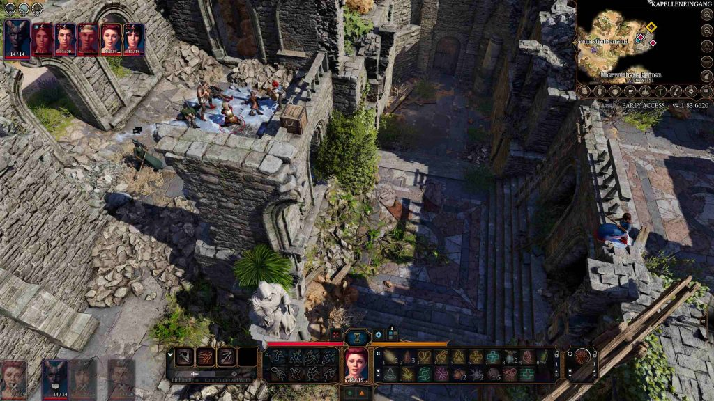 Baldurs Gate 3 Multiplayer Ray of Frost