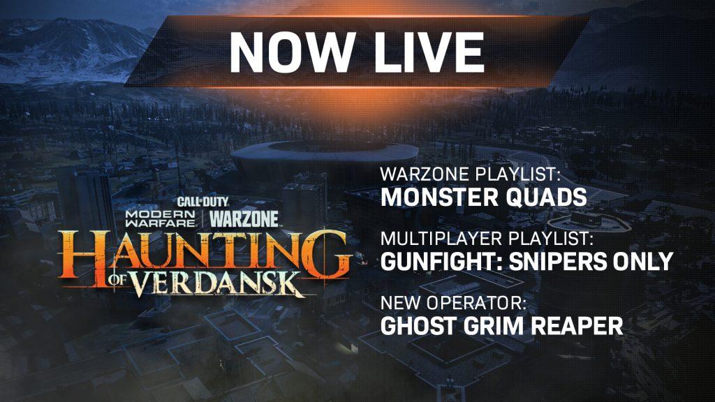 CoD MW Warzone Update JAK12