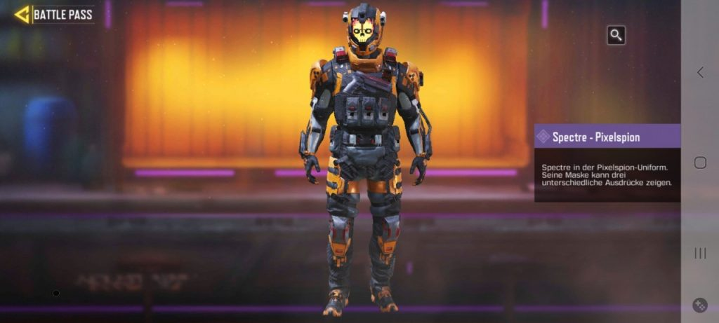 CoD Mobile Skins Battle Pass