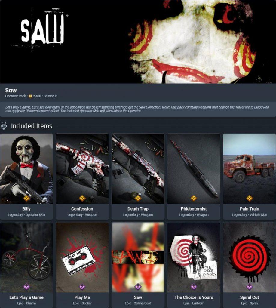 CoD Warzone SAW-Paket