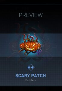 CoD Warzone Trick or Treat Scary Patch Emblem