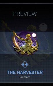 CoD Warzone Trick or Treat The Harvester Emblem