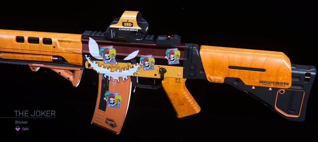 CoD Warzone Trick or Treat The Joker Sticker