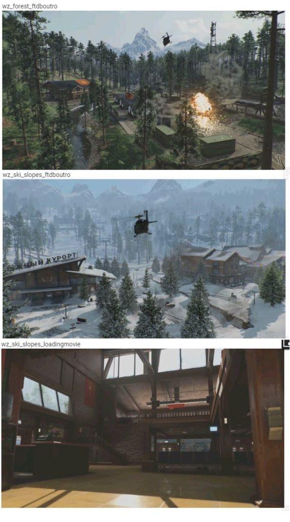 Bilder Map CoD Warzone