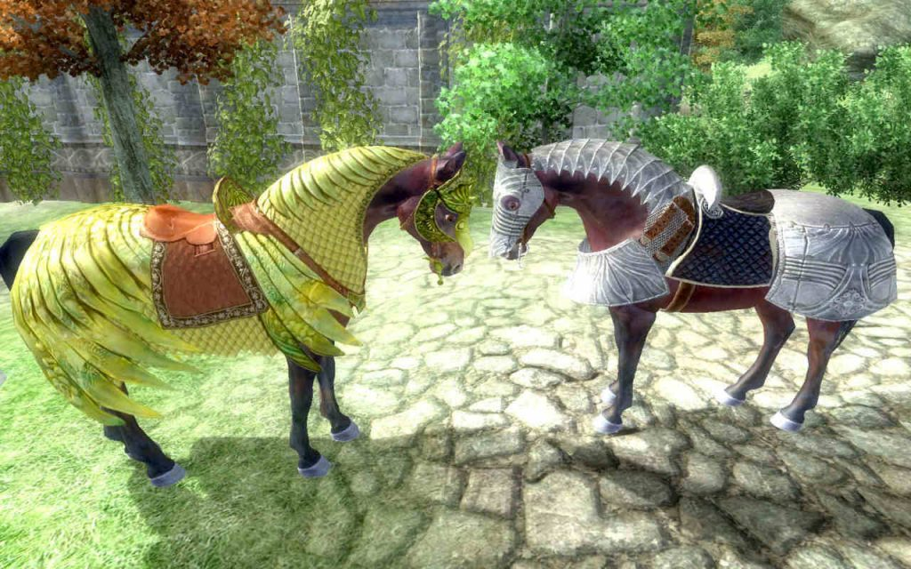 Elder Scrolls 4 Oblivion Pferderüstung 2