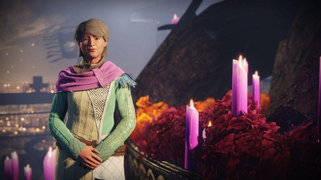 Eva Levante Space Oma Destiny Event NPC