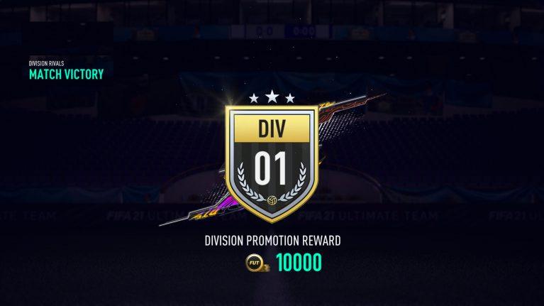 Division Rivals Belohnung