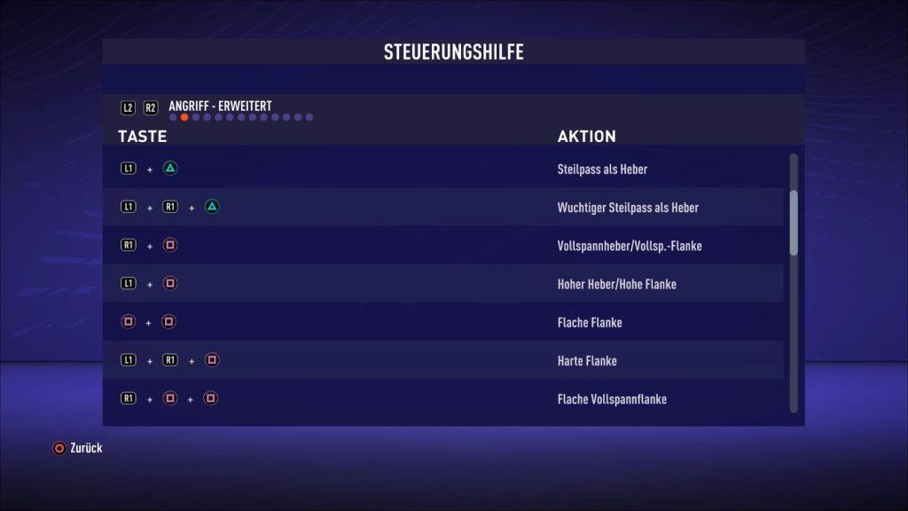 Halbhohe Flanke FIFA 21