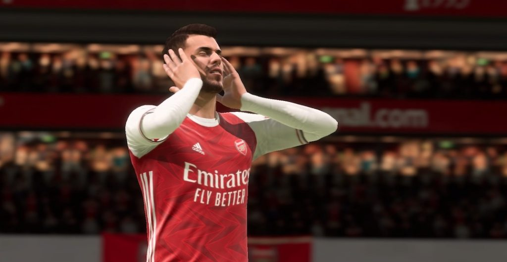 FIFA 21 Pause