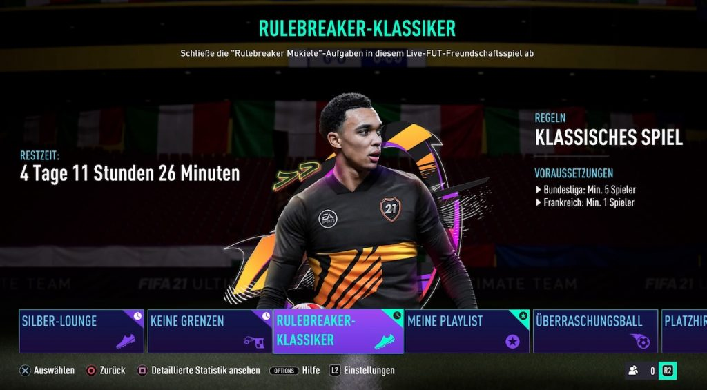 FIFA 21 Rulebreakers Klassiker