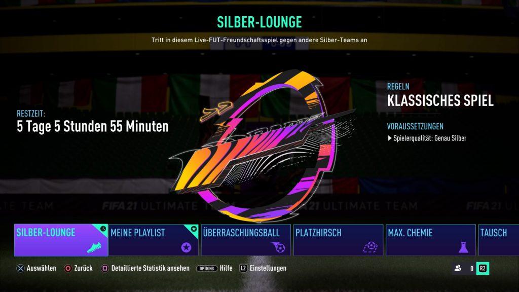 Silber Lounge FIFA