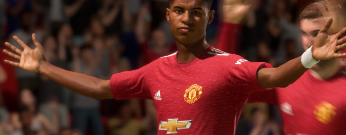 FIFA 21 beliebteste Spieler Ultimate Team Titel Rashford
