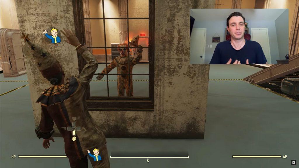 Fallout 76 Shelter Clown Fenster