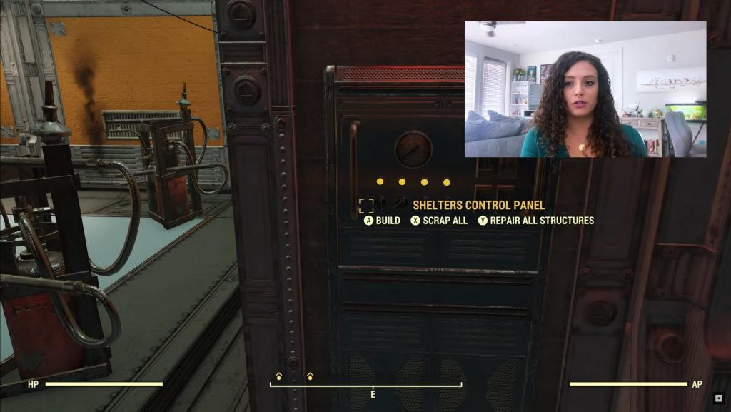 Fallout 76 Shelters Control Panel