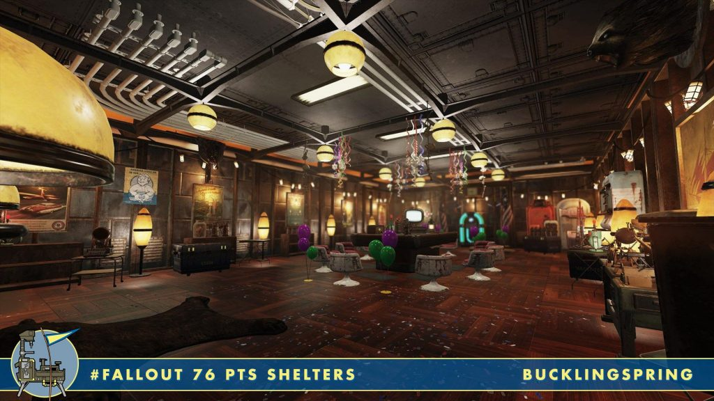 Fallout 76 Shelters PArty Bar