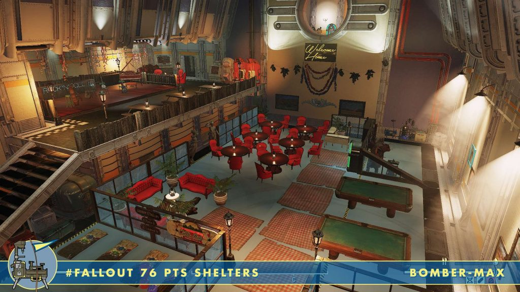 Fallout 76 Shelters Rock n Roll Diner