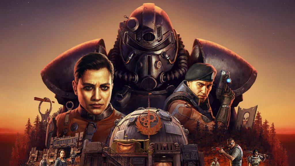 Fallout 76 Steel Dawn Cover Titel